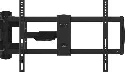 TV-Wandhalterung 48 - 80 Zoll, 600 x 400, Schwenkbar, Neigbar, Rotierbar (IWB-6300), schwarz