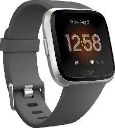 Smartwatch Versa Lite Gr. S & L, grau/silber