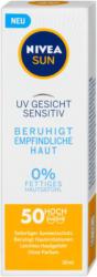 Nivea Sun UV Gesicht Sensitiv Sonnencreme LSF 50