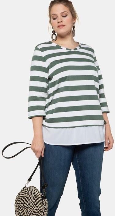 Sweatshirt, Bluseneinstz, Regular, Raffbänder