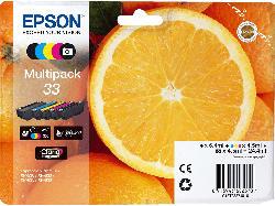 Tintenpatrone 33 Multipack, Claria Premium Ink, 5-farbig (C13T33374011)