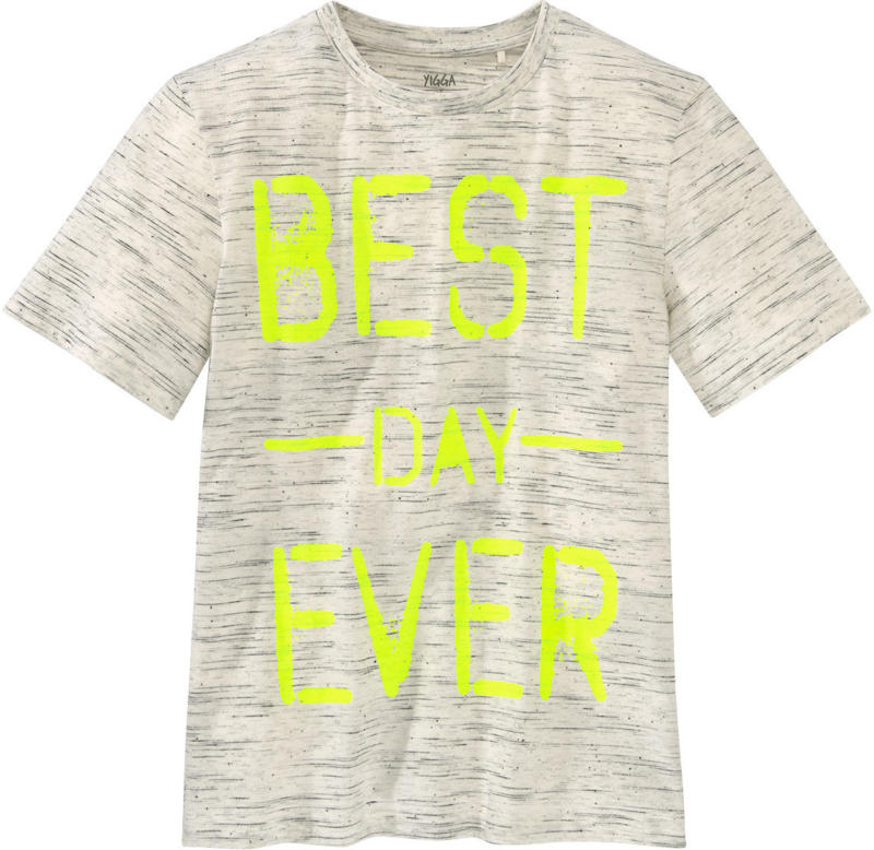 Jungen T-Shirt mit Neon-Schriftzug (Nur online)