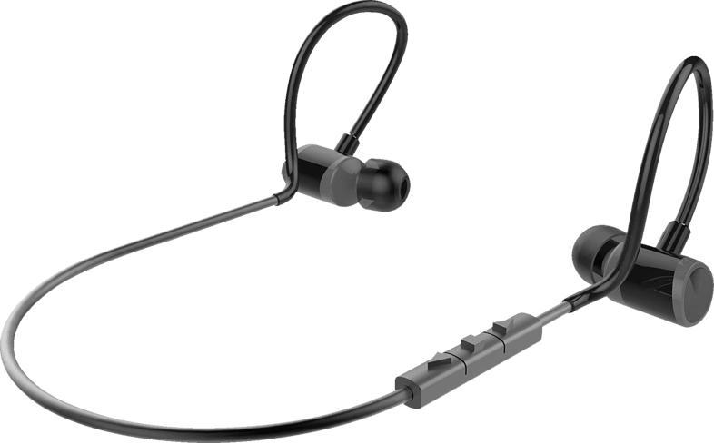ISY IBH-3600-BK, In-ear Kopfhörer Bluetooth Schwarz