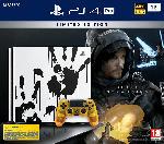 Saturn PlayStation 4 Pro 1TB Konsole Death Stranding Limited Edition