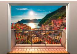 Fototapete Vernazza ca. 368 x 254 cm