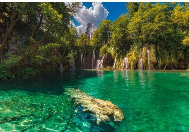 Fototapete Eden Falls ca. 368 x 254 cm