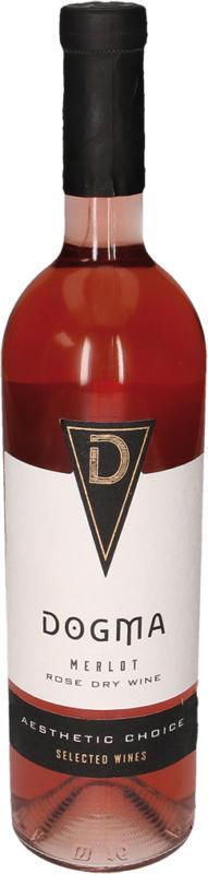 Rosewein aus Moldawien, trocken Merlot