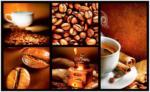 Lipo Tapis de cuisine COFFEE