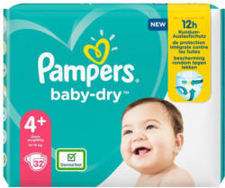 Pampers Baby Dry Gr. 4+ Einzelpack