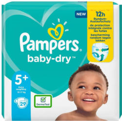 Pampers Baby Dry Gr. 5+ Einzelpack