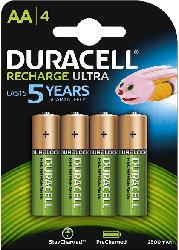 Recharge Ultra AA Batterien 2500 mAh, 4er Pack