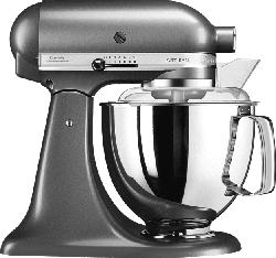 KITCHENAID 5KSM175PSEMS Küchenmaschine Medallion Silber 300 Watt