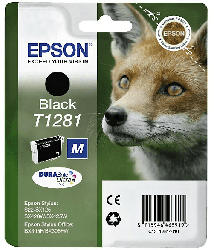 Tintenpatrone T1281, schwarz (C13T12814012)