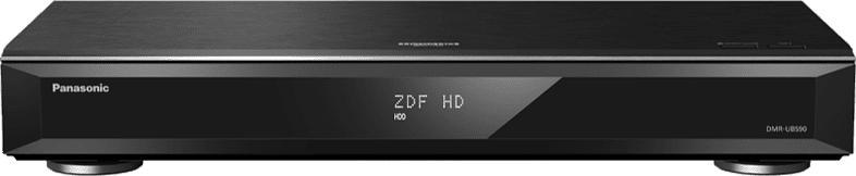 Ultra HD Blu-ray Recorder DMR-UBS90, HD DVB-S2-Triple Tuner, 2000 GB Festplatte, schwarz