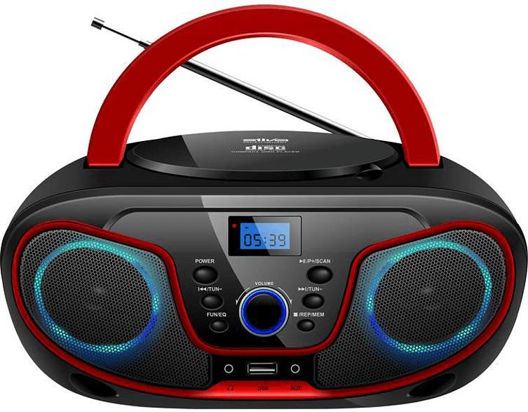 CD Radio MPC 19.4 schwarz/rot