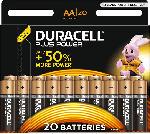 Saturn Plus Power Alkaline AA Batterien, 20er Pack (LR6/MN1500)