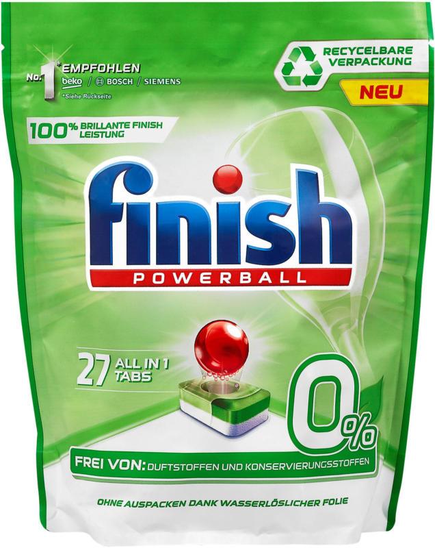 finish Powerball 0 % Geschirrspüler Tabs