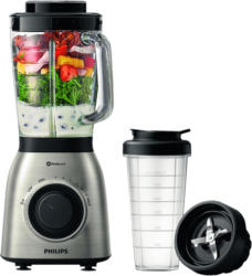 Standmixer HR3556/00 Viva Collection Mix & Go mit 900 Watt, silber