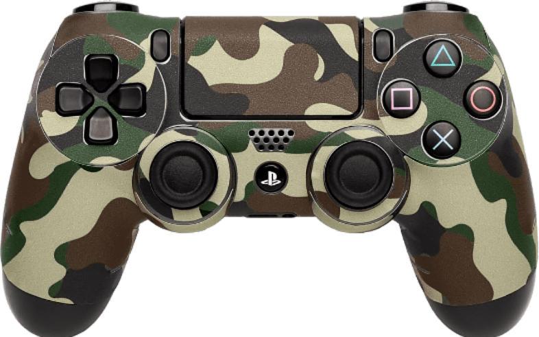 Skin Camo Green für PS4 Dualshock Controler