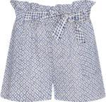Ernsting's family Damen Paperbag-Shorts mit Allover-Muster