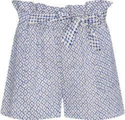 Damen Paperbag-Shorts mit Allover-Muster