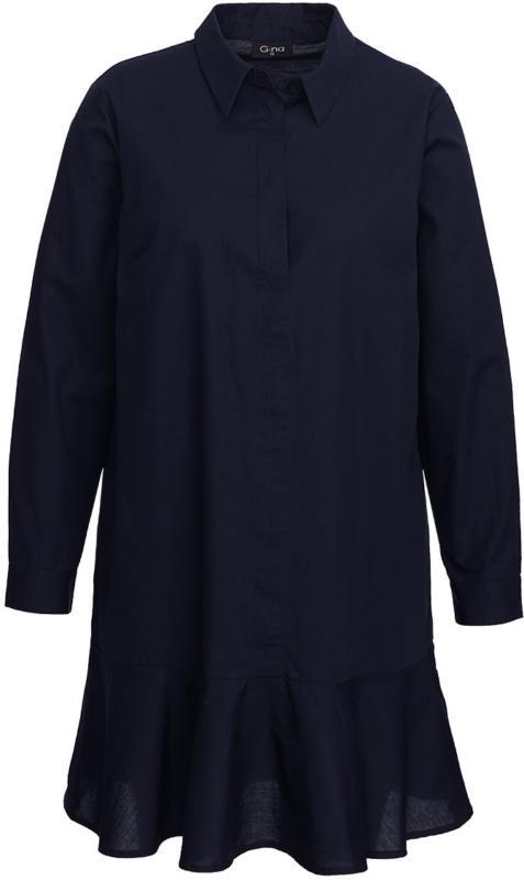 Damen Kleid mit Hemdkragen