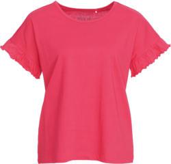 Damen T-Shirt mit Rüschen (Nur online)