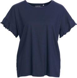 Damen T-Shirt mit Rüschen
