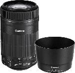 MediaMarkt CANON 8546B013AA 55 mm-250 mm f/4-5.6 IS, EF-S, STM (Objektiv für Canon EF-S-Mount, Schwarz)