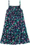Ernsting's family Mädchen Kleid mit Tropical-Print