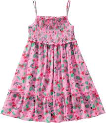 Mädchen Kleid mit Tropical-Print (Nur online)
