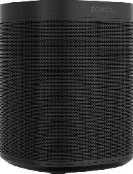 Streaming Lautsprecher Sonos One Smart Speaker mit Sprachsteuerung, schwarz