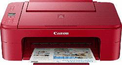 Multifunktionsdrucker Pixma TS3352 Rot, Tinte (3771C046)