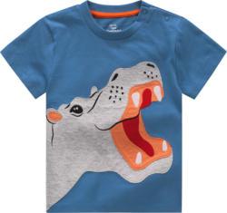 Baby T-Shirt mit Nilpferd-Applikation