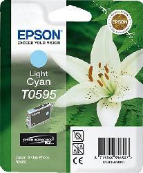 Tintenpatrone Light Cyan C13T05954010 für Stylus Photo R 2400