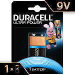 Saturn Ultra Power Alkaline 9 V Batterien, Einzelpackung (6LR61/MX1604)