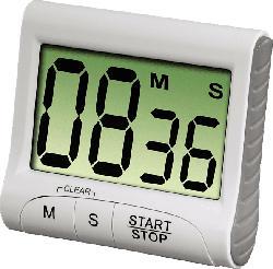 Countdown digitaler Küchentimer, weiß (111319)
