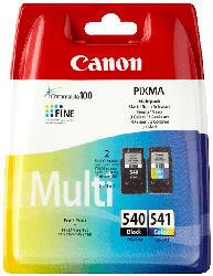 CANON PG 540 + CL 541 Tintenpatrone Multipack mehrfarbig (5225B006)
