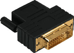 Kompaktadapter, DVI-D-Stecker - HDMI™-Kupplung (123362)