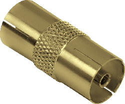 Antennen-Adapter, Koax-Kupplung - Koax-Kupplung (123383)