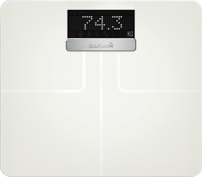 Körperfettwaage Index™, weiß