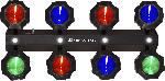 Saturn Party Beams LED Lichteffekt für Party