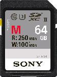 Saturn Speicherkarte SF-M Series R260/W100 SDXC 64GB, UHS-II U3, Class 10 (SF64M/SF-M64)