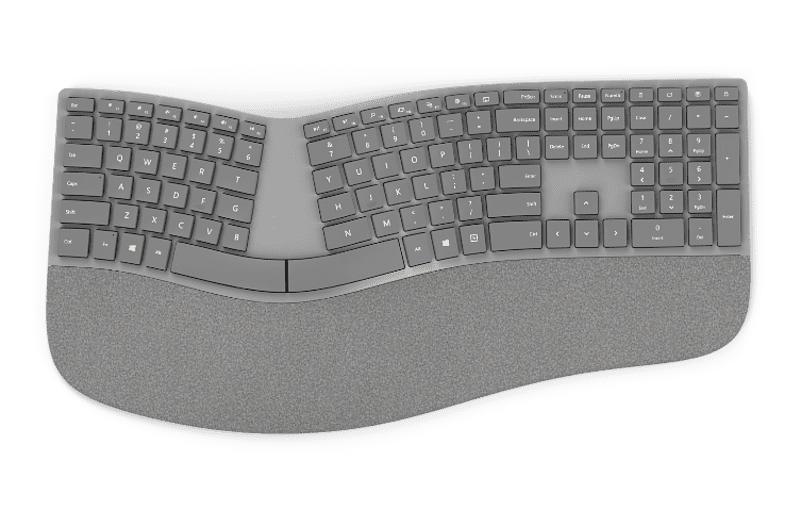 Surface Ergonomische Tastatur, grau (3RA-00005)