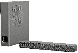 Kompakte Soundbar HTMT300 2.1-Kanal mit Bluetooth®
