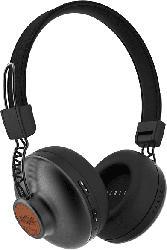 Positive Vibration BT On-Ear-Bluetooth Kopfhörer, signature black