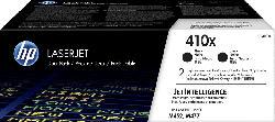 HP 410X Toner Schwarz 2er-Pack