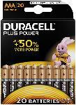 Saturn Plus Power Alkaline AAA Batterien, 20er Pack (MN2400/LR03 BPH20)