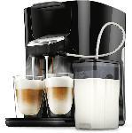 Saturn Senseo Kaffeepadmaschine HD6570/60 Latte Duo Plus, schwarz