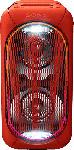 Saturn Party Lautsprecher GTKXB60R.CEL mit Bluetooth, High Power Audio, HiFi Audio, Extra Bass, rot